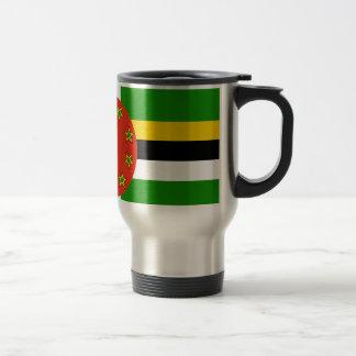 Dominica Flag Travel Mug