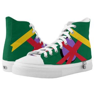 Dominica II Portal Hi-Top Printed Shoes