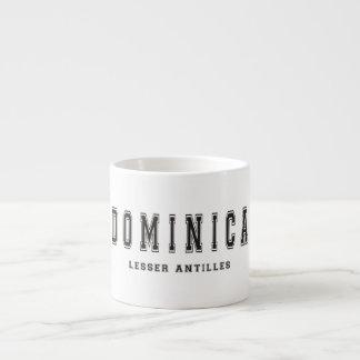 Dominica Lesser Antilles Espresso Cup