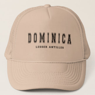 Dominica Lesser Antilles Trucker Hat
