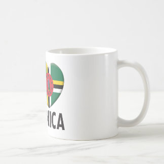 Dominica Love Basic White Mug