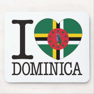 Dominica Love v2 Mouse Pad