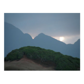 Dominica Mountains Postcard
