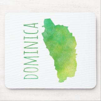 Dominica Mouse Pad