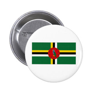 Dominica National Flag Buttons