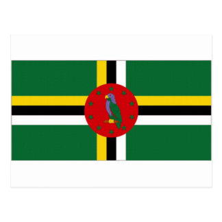 Dominica National Flag Postcard