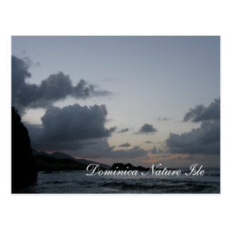 Dominica Nature Isle Sea View Postcard