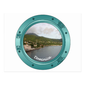 Dominica Porthole Postcard