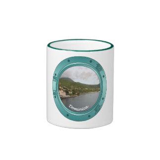 Dominica Porthole Ringer Mug