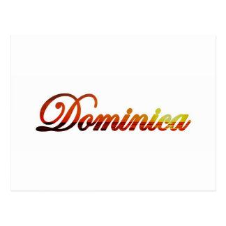 Dominica Postcard