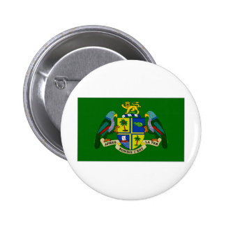Dominica President Flag Buttons