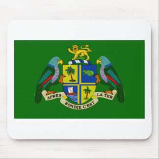 Dominica President Flag Mouse Pad