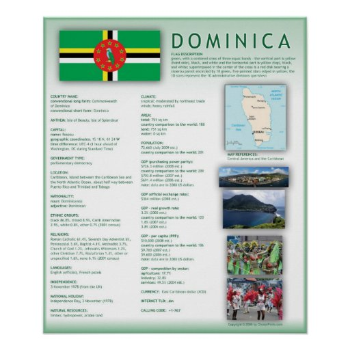 Dominica Print