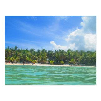 DOMINICA REPUBLIC 3 POSTCARD