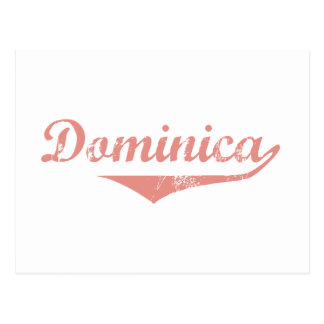 Dominica Revolution Style Postcard