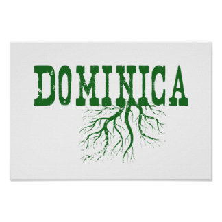 Dominica Roots Poster