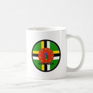 Dominica Roundel quality Flag Classic White Coffee Mug