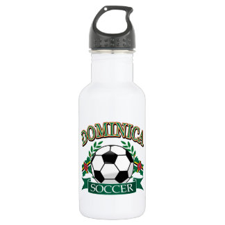 Dominica soccer ball designs stainless steel water bottle