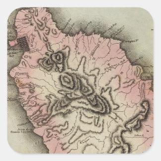 Dominica Square Sticker