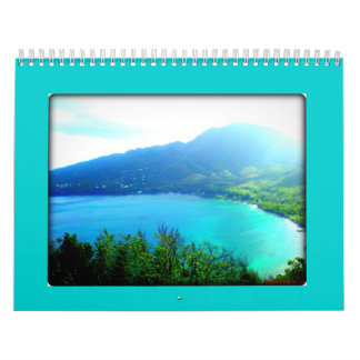 Dominica - un asilo natural calendario