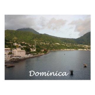Dominica View Postcard