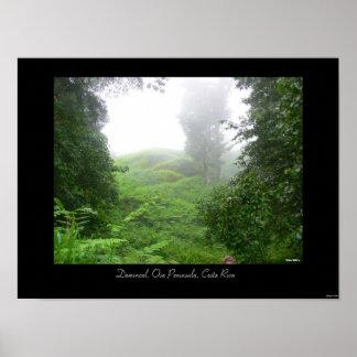 Dominical, península de Osa, Costa Rica Poster
