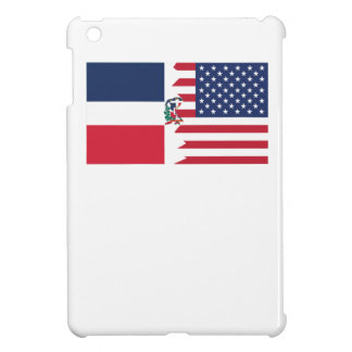 Dominican American Flag Cover For The iPad Mini