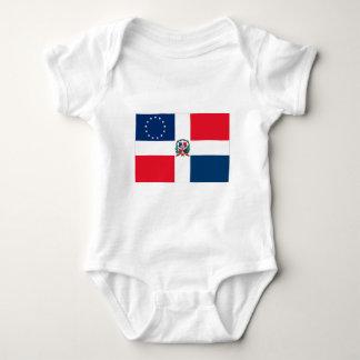 Dominican-American Flag Tee Shirt