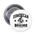 Dominican Boxing Buttons