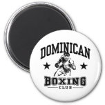 Dominican Boxing Fridge Magnet
