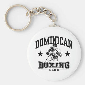 Dominican Boxing Keychain