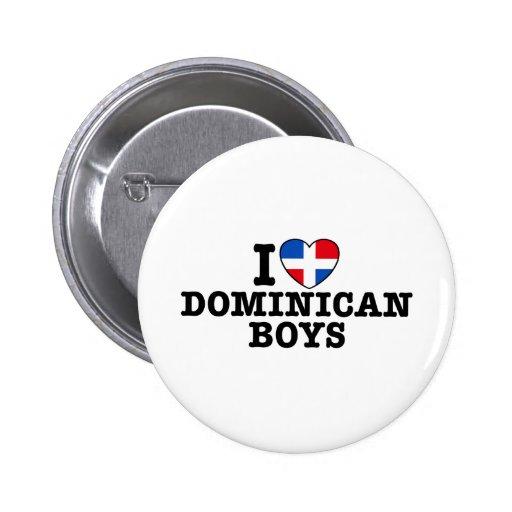 Dominican Boys Button