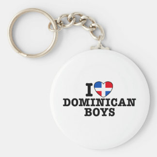 Dominican Boys Keychain