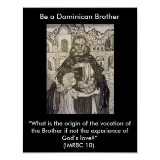 Dominican Brother Vocation Poster Three