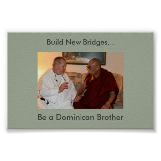 Dominican Brother Vocation Poster Two