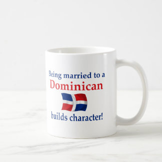 Dominican Builds Character Classic White Coffee Mug