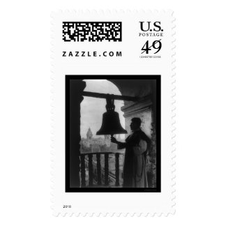 Dominican Church Tower in Lima, Peru 1902 Postage Stamp