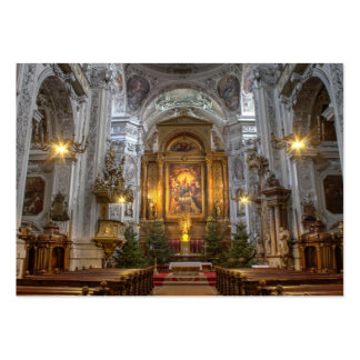 Dominican Church Vienna Austria Large Business Card