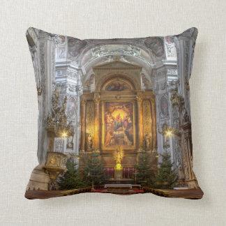 Dominican Church Vienna Austria Throw Pillow