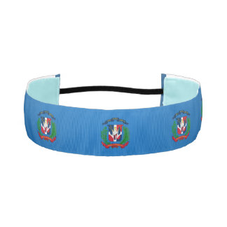 Dominican coat of arms athletic headband