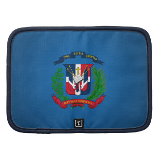 Dominican coat of arms folio planner