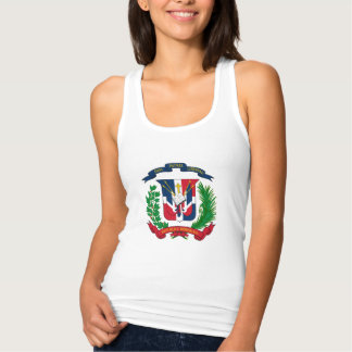 Dominican coat of arms tank top