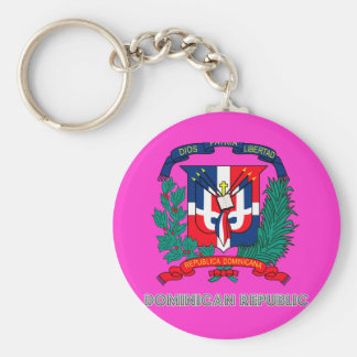 Dominican Emblem Keychain