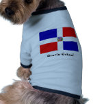 dominican flag, dog clothing