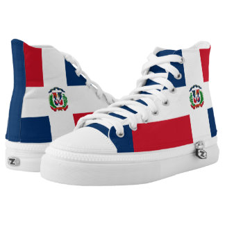 Dominican flag High-Top sneakers