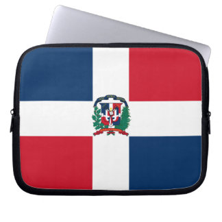 Dominican Flag Computer Sleeves
