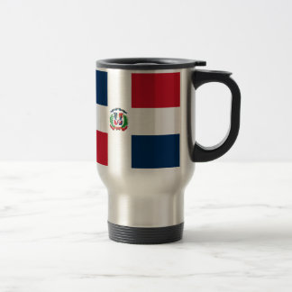 Dominican Flag 15 Oz Stainless Steel Travel Mug