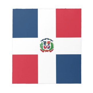 Dominican Flag Scratch Pad