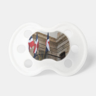 dominican flag BooginHead pacifier