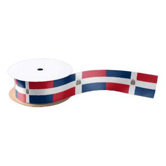 Dominican flag ribbon